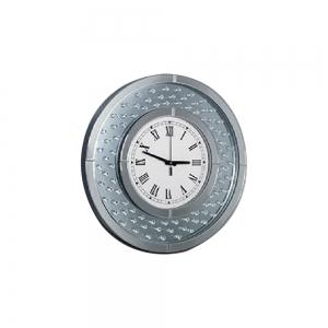 Reloj redondo espejo
